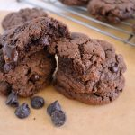 Fudgy Grain Free Chocolate Truffle Cookies