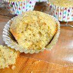 Gluten-Free Lemon-Flaxseed Muffins Sweetened with Honey