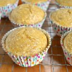 Lemon Flaxseed Muffins- Gluten-Free & Honey Sweetened