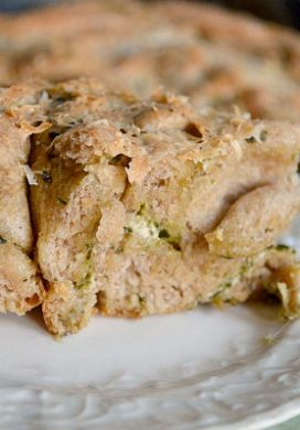 Easy Pesto Twist Bread Recipe