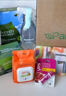 ePantry Subscription Service {FREE Mrs. Meyer's Toilet Cleaner, $10 Credit + FREE Shipping for AOC Readers!}