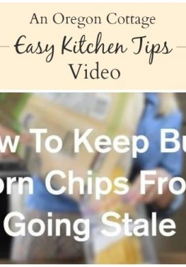 Kitchen Tips Video: How to Keep Bulk Chips Fresh
