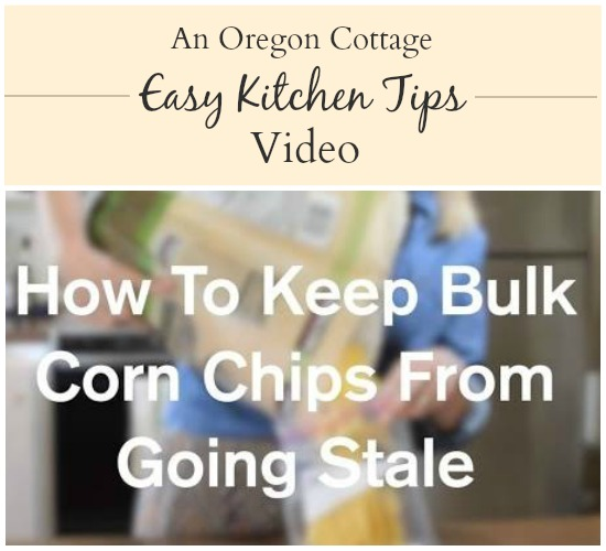 See this easy kitchen tip that will save money and waste with bulk tortilla chips