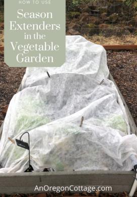 how to use garden season extenders