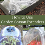 how to use garden season extenders