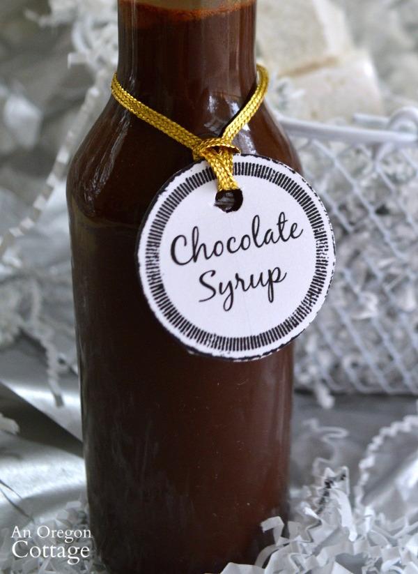 Pantry Basics: Homemade Chocolate Syrup