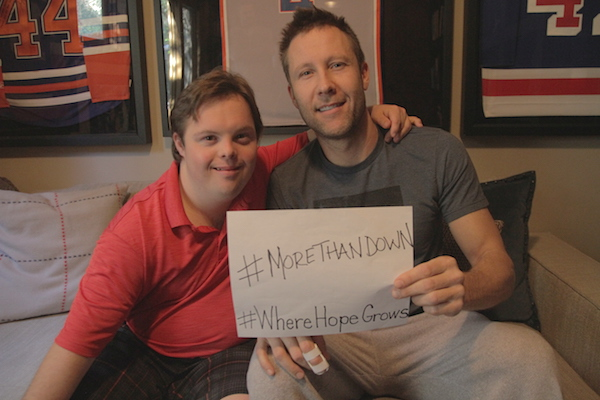 #WhereHopeGrows and #MoreThanDown