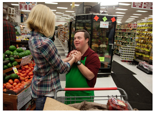 Where Hope Grows Movie Scene-Produce and Shopper