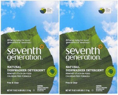 seventh gen dishwasher detergent