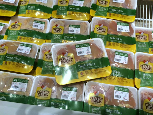 Foster Farms Simply Raised Chicken in Store