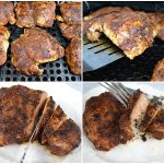 Grilled Chipotle Spice Rubbed Chicken Thighs