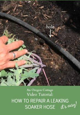 Video Tutorial: How To Repair a Garden Soaker Hose