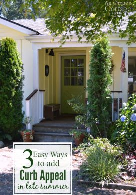 Easy ways to add curb appeal in late summer