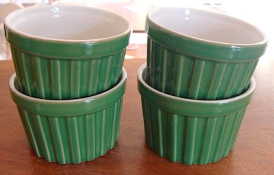 green Ramekins