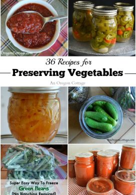 36 Recipes For Preserving Vegetables