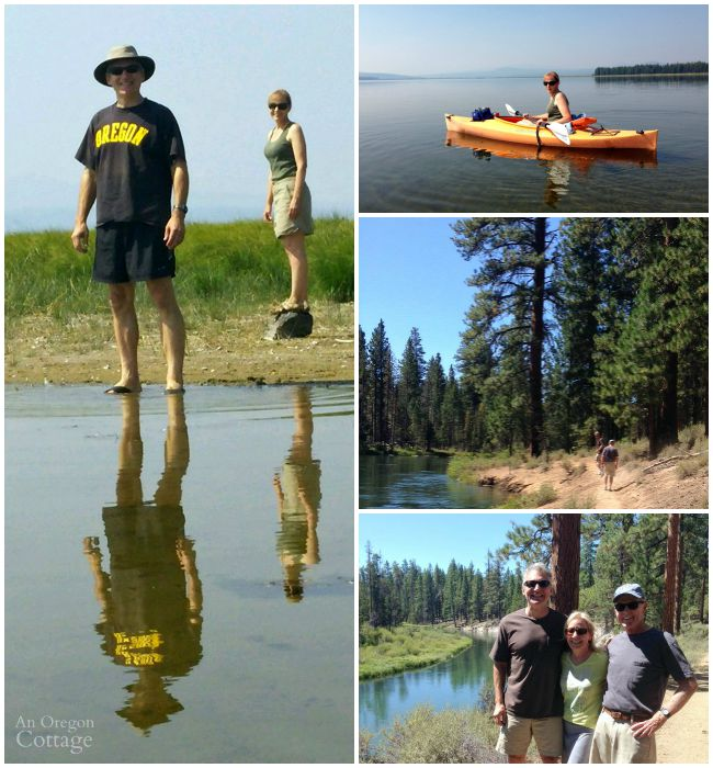 Kayaking and hiking in LaPine 8-15