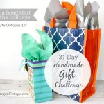 31 Day Handmade Gift Challenge Launches Today!