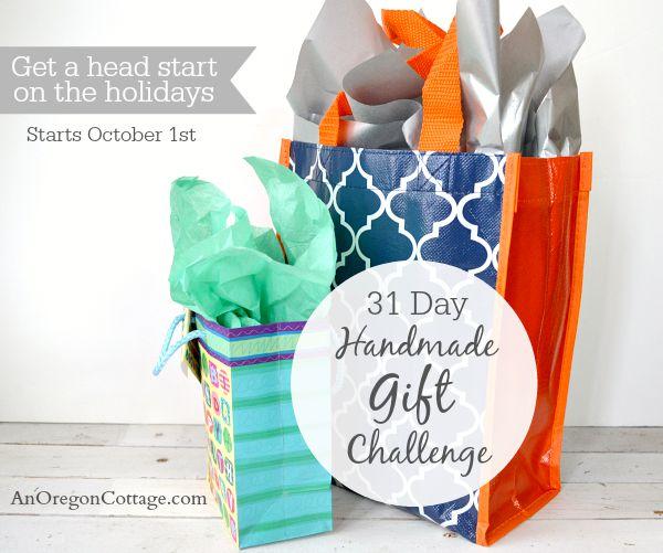 31 Day Handmade Gift Challenge