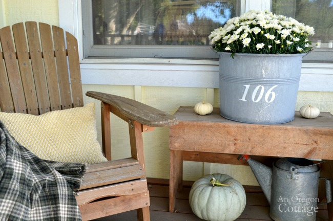 Easy & Simple Fall Porch