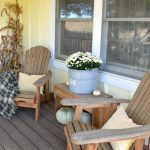 Easy Decorating Ideas: Natural & Neutral Fall Porch