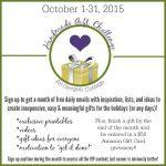 AOC Handmade Gift Challenge Information