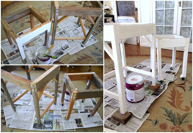 Making DIY Nesting Side Tables