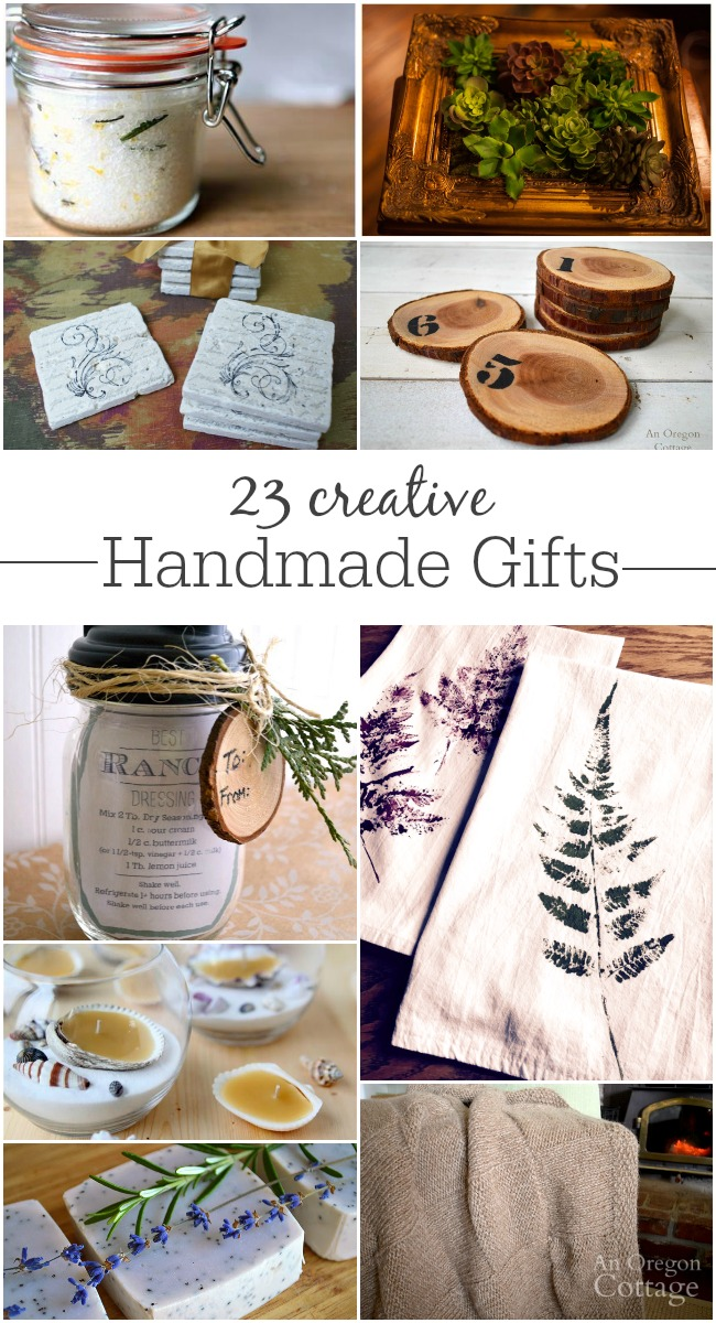 23 creative handmade gifts for christmas and more an