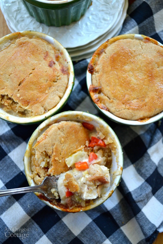 Bacon Dijon Chicken Pot Pie