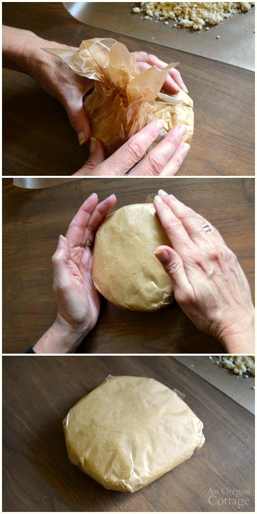 Best Homemade Pie Crust Tutorial steps 6-8