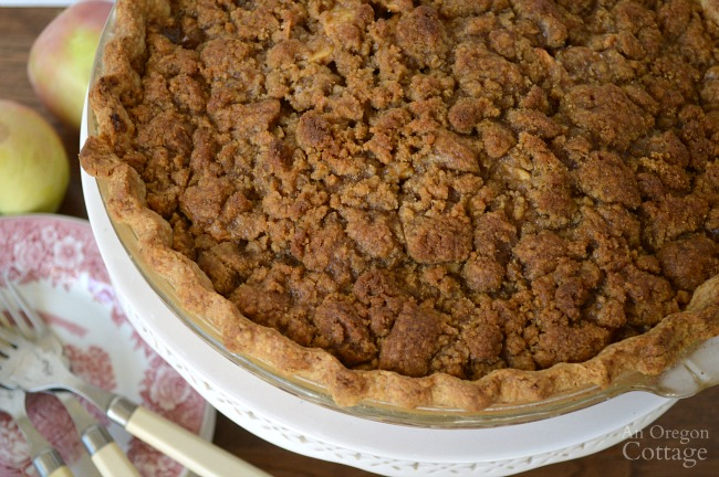 Crumb-Topped Apple Pie with Best Pie Crust