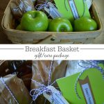 Give an easy-to-make, real food breakfast basket for a holiday gift or a college student