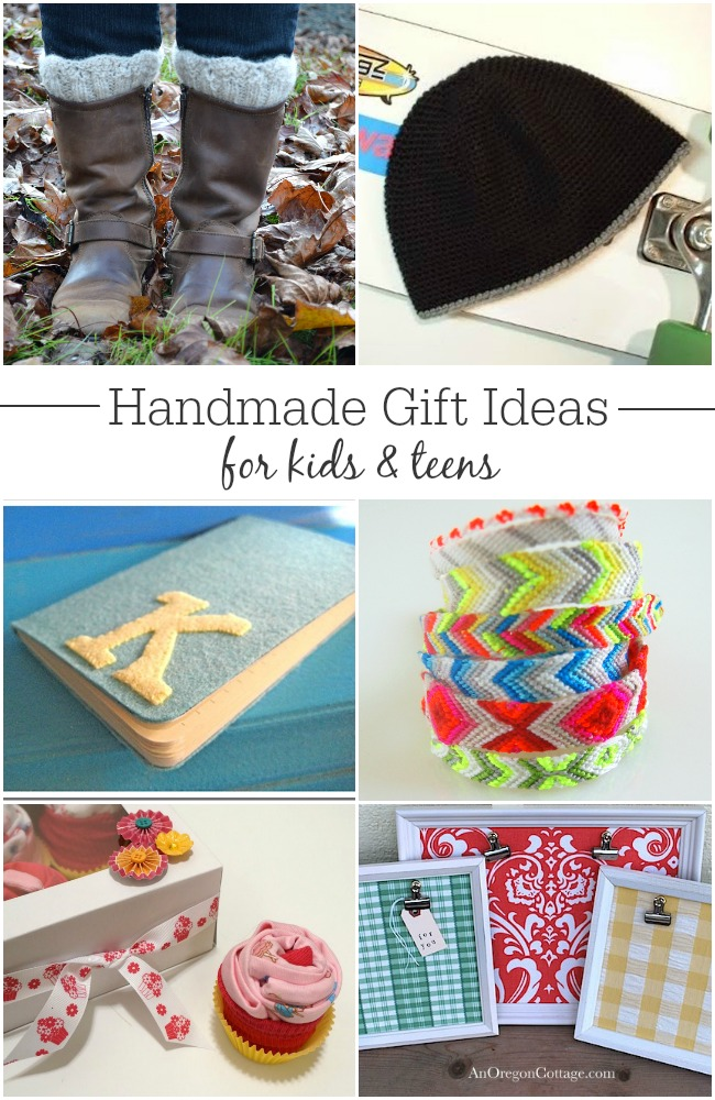 25+ Handmade Gift Ideas for Kids and Teens