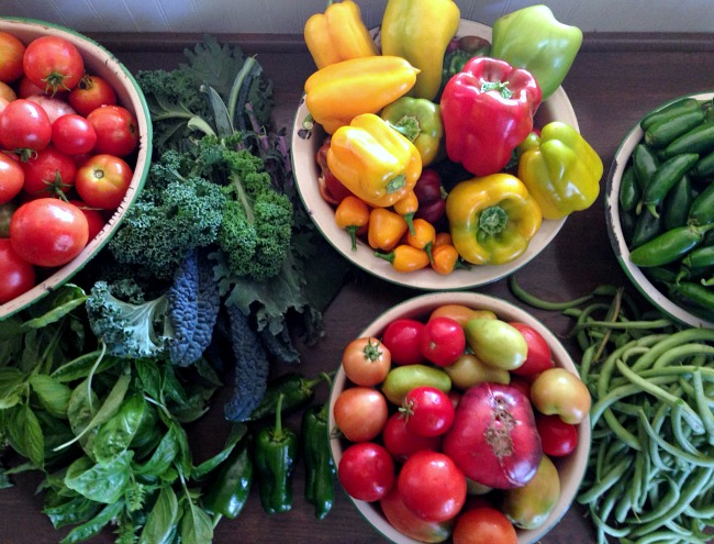 October harvest at An Oregon Cottage