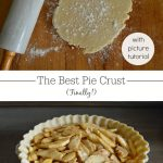 Pie crust tutorial-after years of searching and multiple tests, this is the pie crust winner! Everyone really does think it's the best pie crust, maybe due to it's 'secret' ingredient?