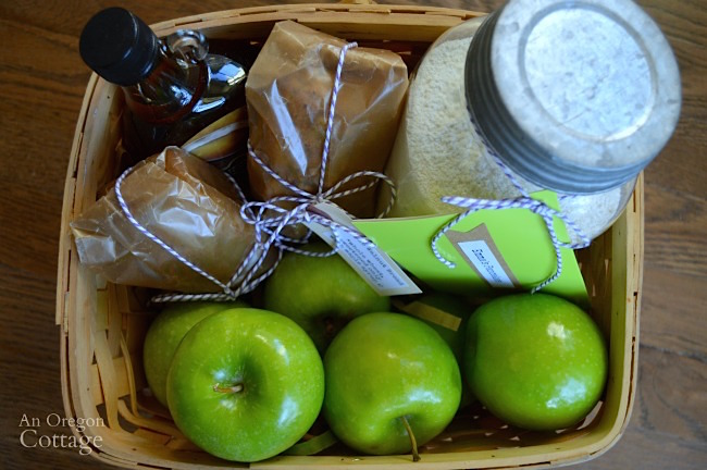 Real Food Breakfast Basket Gift Idea