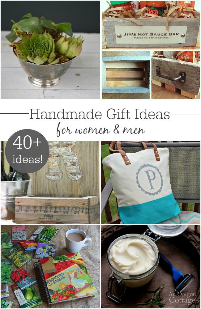 Handmade Gift Ideas For Men Women An Oregon Cottage