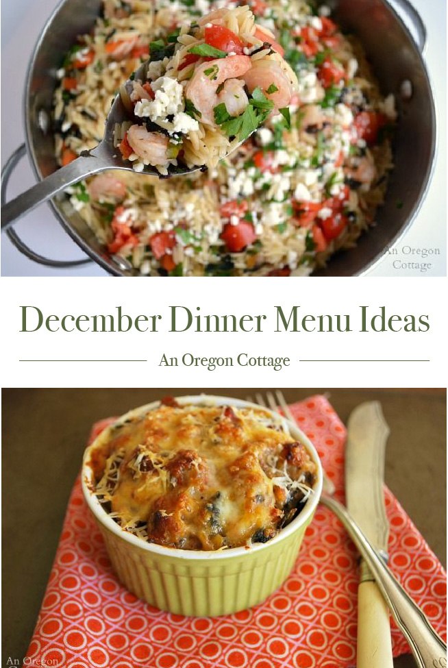 December Menu Ideas