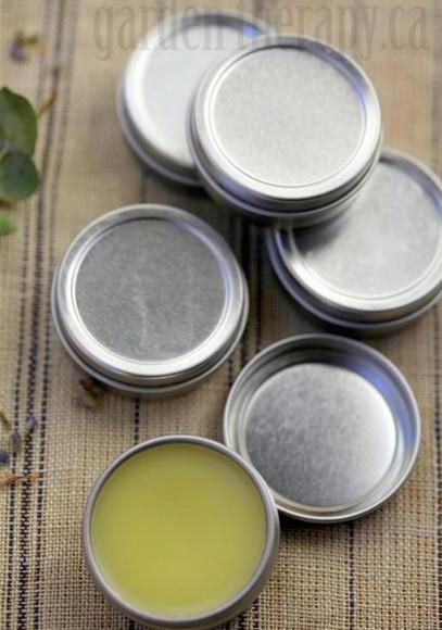 Healing cuticle balm via Garden Therapy