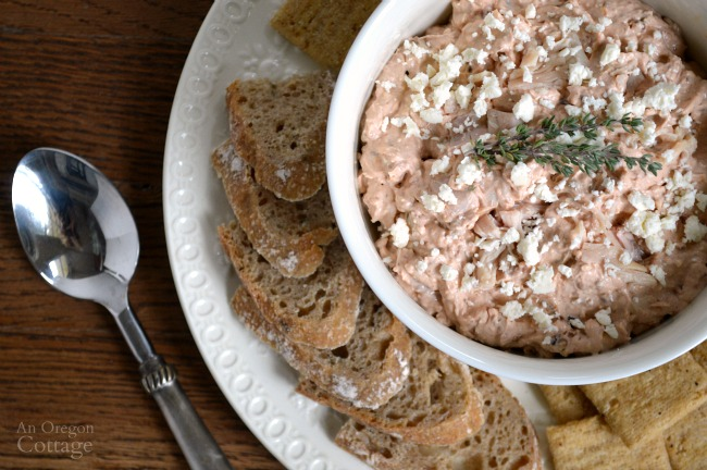 Chicken Feta and Dried Tomato Dip