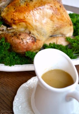 White Wine Roasted Turkey with amazing gravy