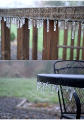 January 2016 freezing rain