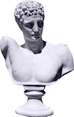 New Plaster Hermes Bust Online