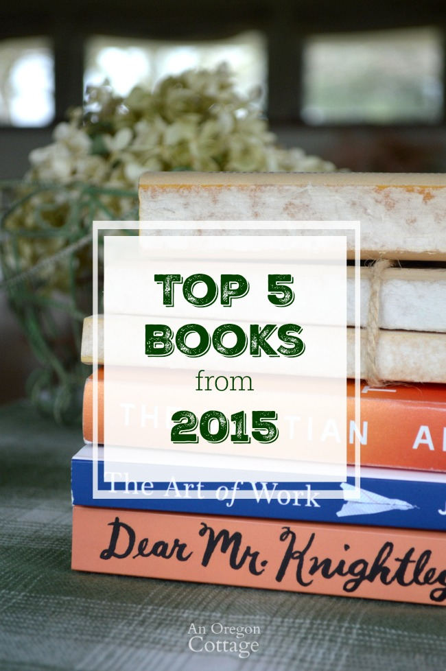 Top 5 Books from 2015-Details and reasons these five books made it to the top of the list for 2015 and why they just might be must-reads for you, too.
