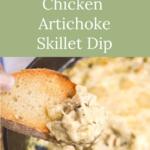 fast flavorful chicken artichoke skillet dip