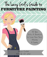 lazy girls guide to furniture painting