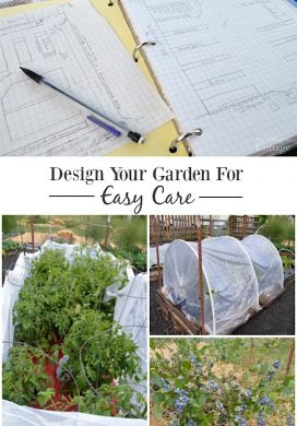 Design your vegetable garden for easy care and spend time cooking and eating- not weeding!