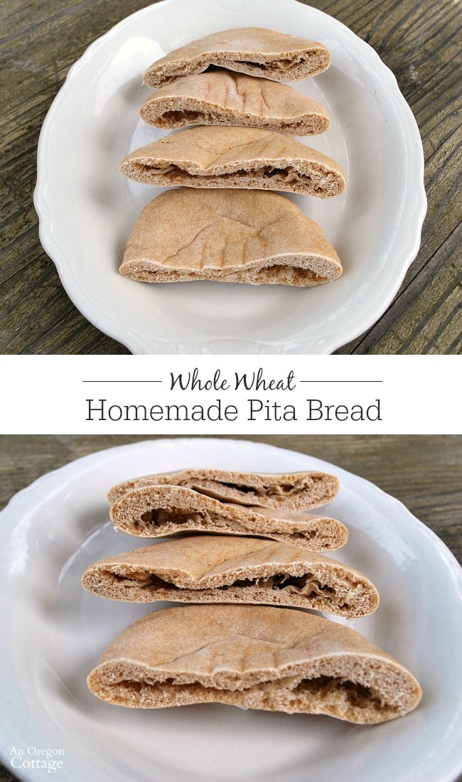 You won't believe how easy it is to make pita bread at home - and how much more AMAZING it tastes than store-bought!