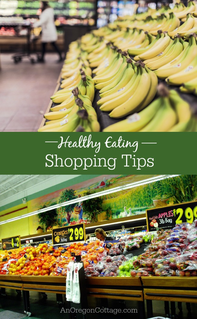 Shopping Tips for healthy eating