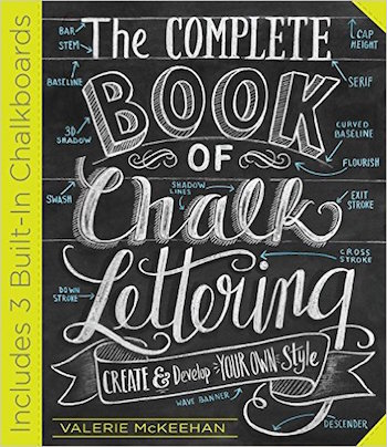 The Complete Book of Chalk Lettering cover
