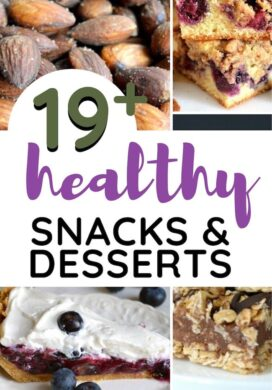 best healthy snacks and desserts pin